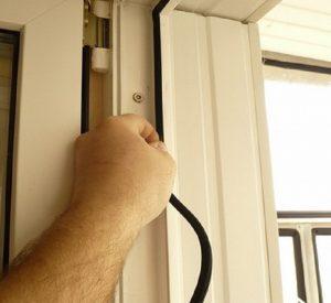 Замена уплотнителей на окнах